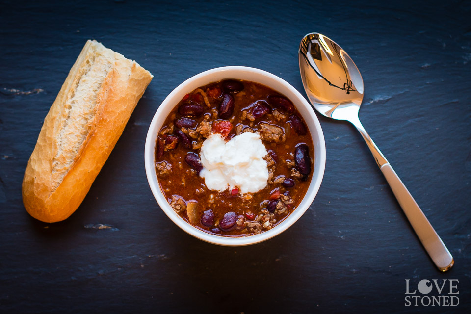 Chili con Carne - lovestoned.de