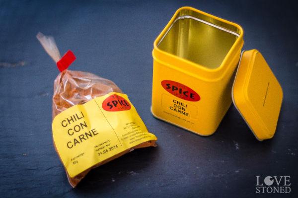 Gewürz für Chili con Carne - lovestoned.de