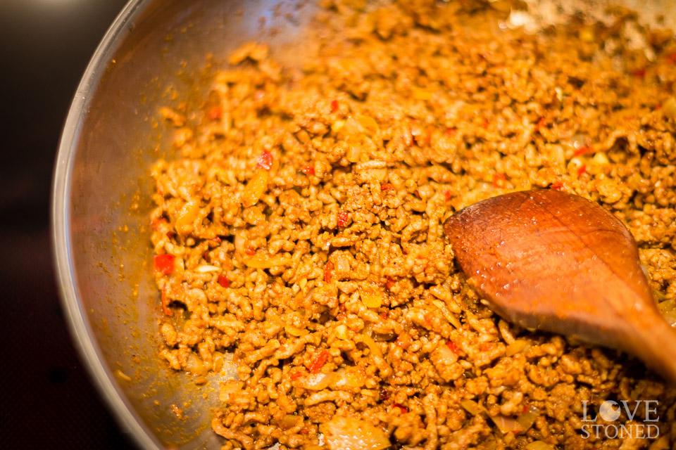 Zubereitung - Chili con Carne - lovestoned.de