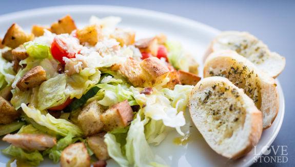 Caesar Salad mit Senf-Dressing - lovestoned.de